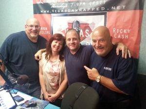 Vegas Unwrapped Radio with Aaron Phillips and Ricky Cash, Catherine Natale and Peter Papageorgiou