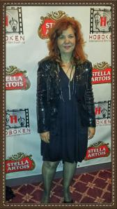 Creator and Writer Catherine Natale on the red carpet